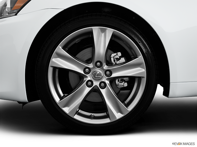2013 Lexus IS 250 Front Drivers side wheel at profile
