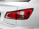2013 Lexus IS 250 Passenger Side Taillight