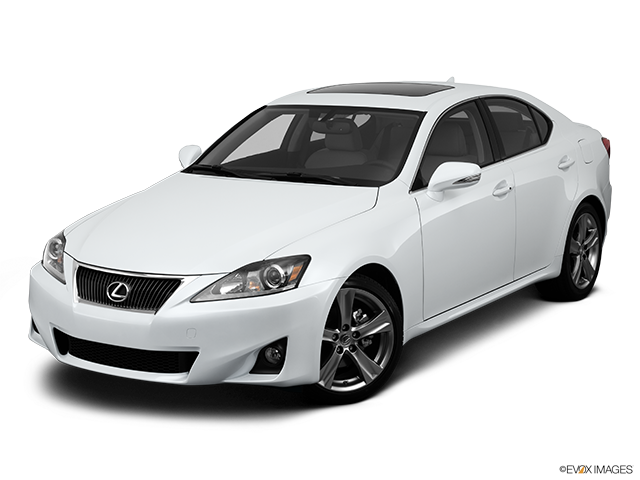 2013 Lexus IS 250 Front angle view