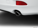 2013 Lexus IS 250 Chrome tip exhaust pipe