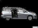 2013 Mazda Mazda5 Passenger's side view, sliding door open (vans only)