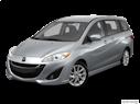 2013 Mazda Mazda5 Front angle view