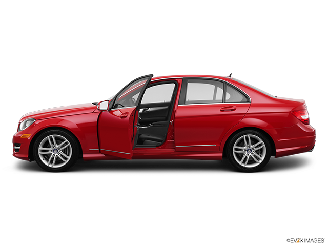 2013 Mercedes-Benz C-Class Driver's side profile with drivers side door open