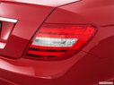 2013 Mercedes-Benz C-Class Passenger Side Taillight