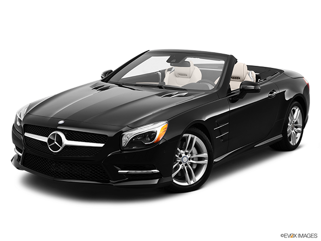 2013 Mercedes-Benz SL-Class Front angle view