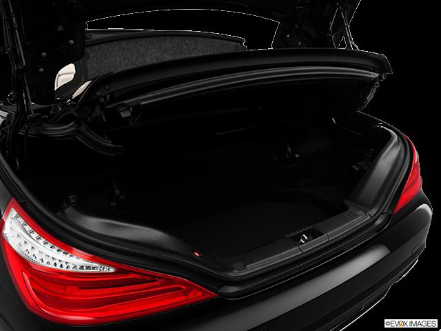 2013 Mercedes-Benz SL-Class Trunk open