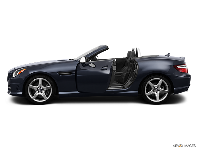 2013 Mercedes-Benz SLK Driver's side profile with drivers side door open