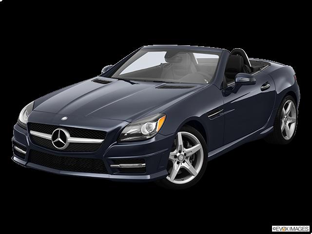 2013 Mercedes-Benz SLK Front angle view