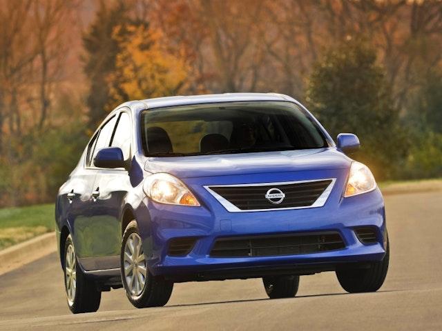 2013 Nissan Versa Exterior