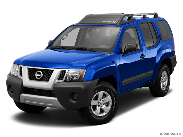 2013 Nissan Xterra Front angle view