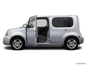 2013 Nissan cube Driver's side profile with drivers side door open