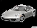2013 Porsche 911 Front angle view