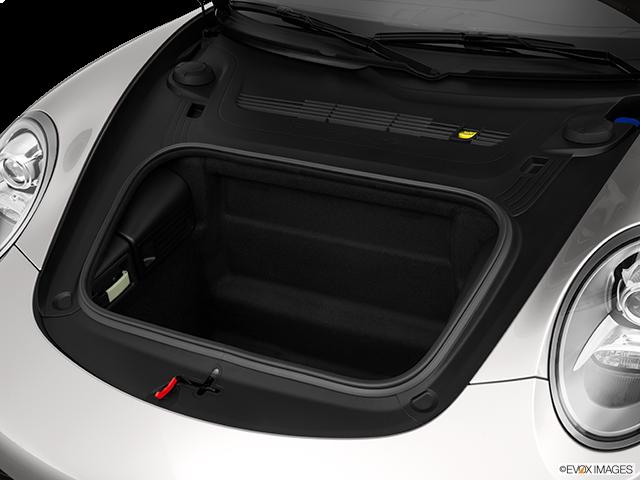 2013 Porsche 911 Trunk open