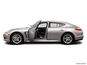 2013 Porsche Panamera Driver's side profile with drivers side door open
