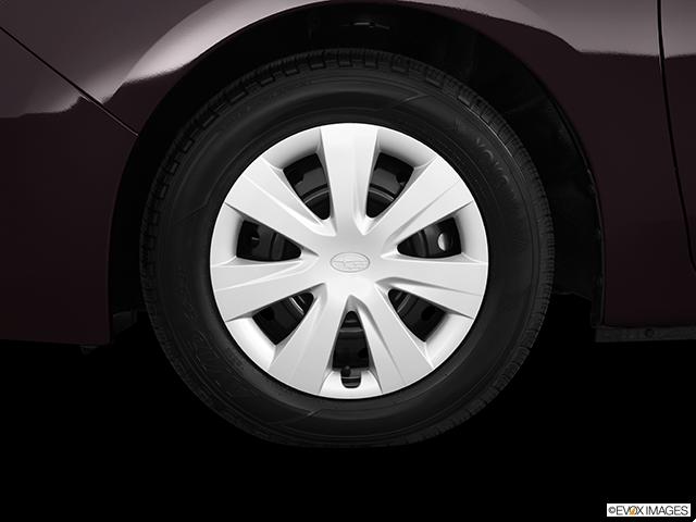 2013 Subaru Impreza Front Drivers side wheel at profile