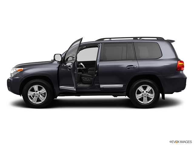 2013 Toyota Land Cruiser Driver's side profile with drivers side door open