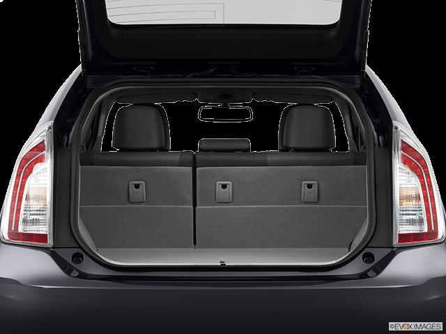 2013 Toyota Prius Trunk open