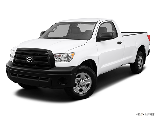 2013 Toyota Tundra Front angle view