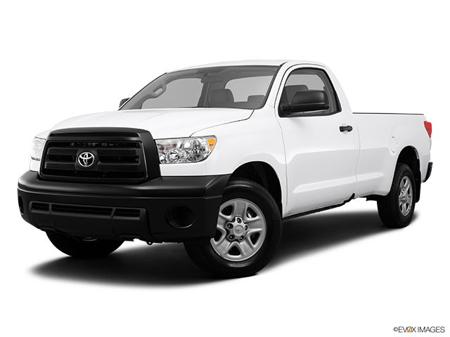 2013 Toyota Tundra Front angle medium view