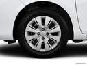 2013 Toyota Yaris Front Drivers side wheel at profile