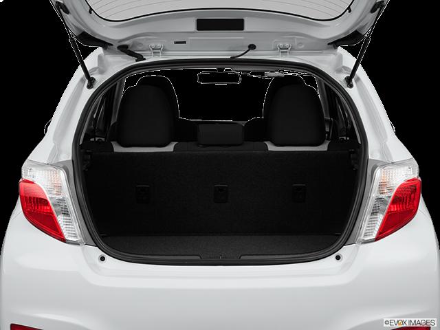 2013 Toyota Yaris Trunk open