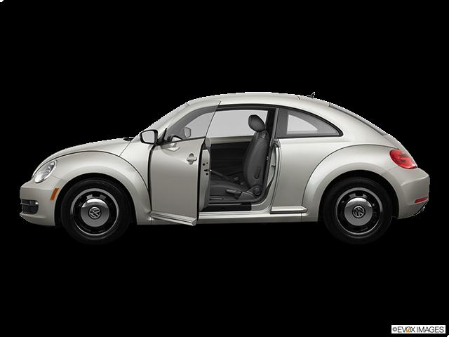 2013 Volkswagen Beetle Driver's side profile with drivers side door open