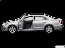 2013 Volkswagen Passat Driver's side profile with drivers side door open