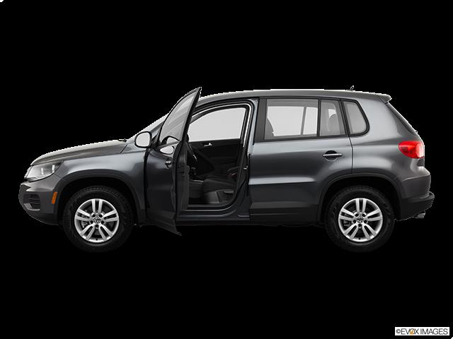 2013 Volkswagen Tiguan Driver's side profile with drivers side door open