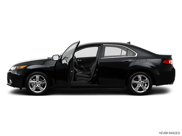 2014 Acura TSX Driver's side profile with drivers side door open