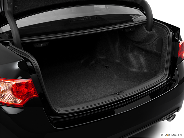 2014 Acura TSX Trunk open