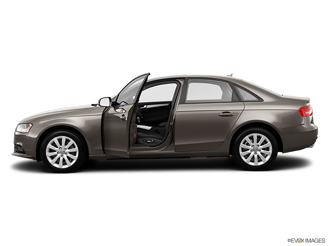 2014 Audi A4 Driver's side profile with drivers side door open