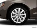 2014 Audi A4 Front Drivers side wheel at profile