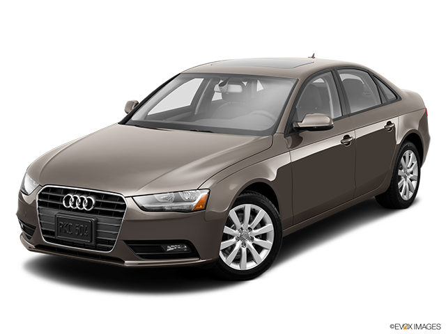 2014 Audi A4 Front angle view
