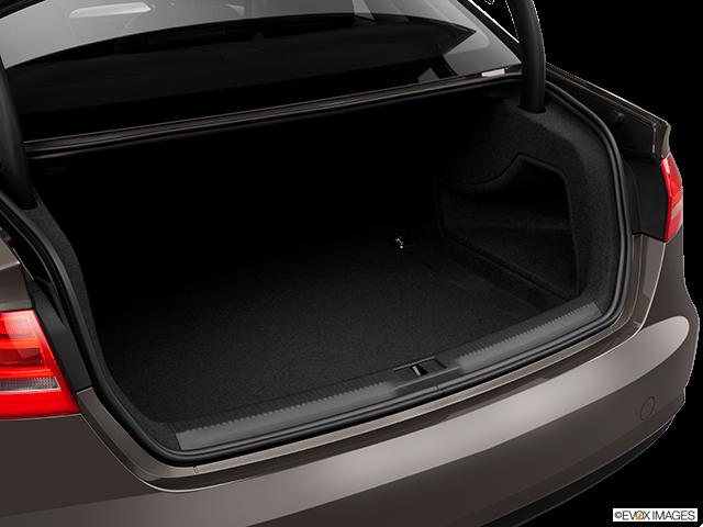 2014 Audi A4 Trunk open