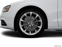 2014 Audi A5 Front Drivers side wheel at profile