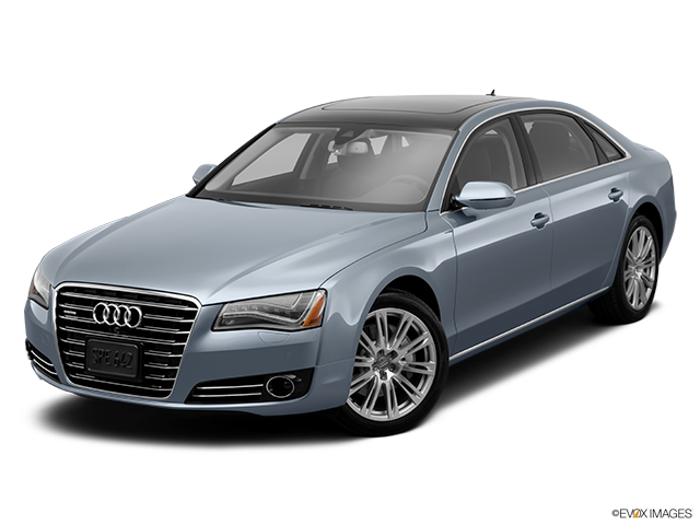 2014 Audi A8 Front angle view