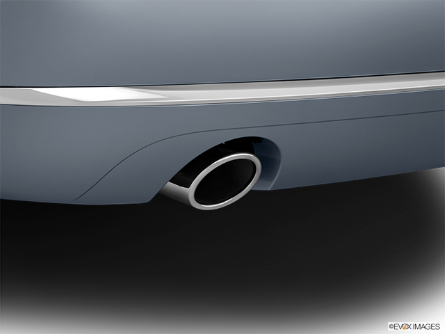 2014 Audi A8 Chrome tip exhaust pipe