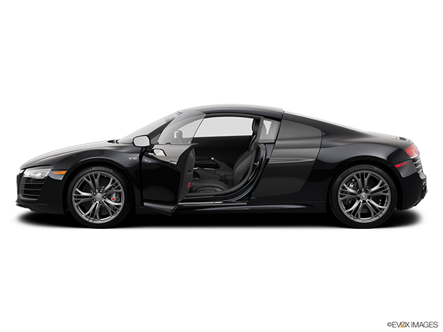 2014 Audi R8 Driver's side profile with drivers side door open