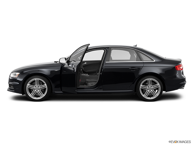 2014 Audi S4 Driver's side profile with drivers side door open