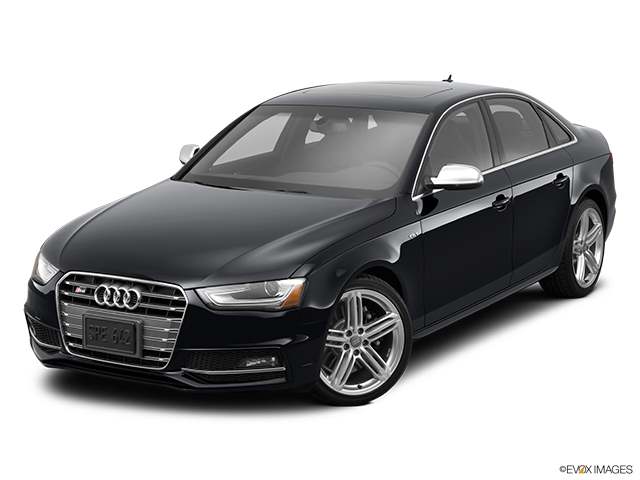 2014 Audi S4 Front angle view