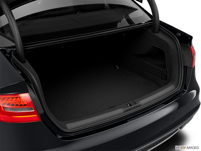 2014 Audi S4 Trunk open