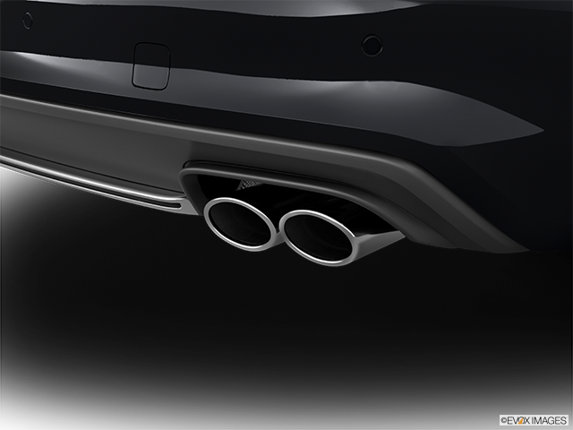 2014 Audi S4 Chrome tip exhaust pipe