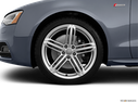 2014 Audi S5 Front Drivers side wheel at profile
