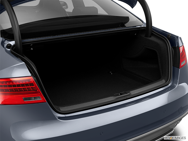 2014 Audi S5 Trunk open