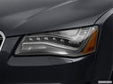2014 Audi S8 Drivers Side Headlight