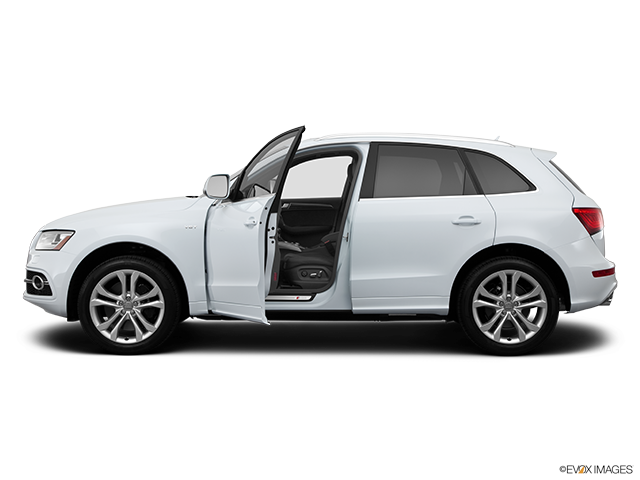 2014 Audi SQ5 Driver's side profile with drivers side door open