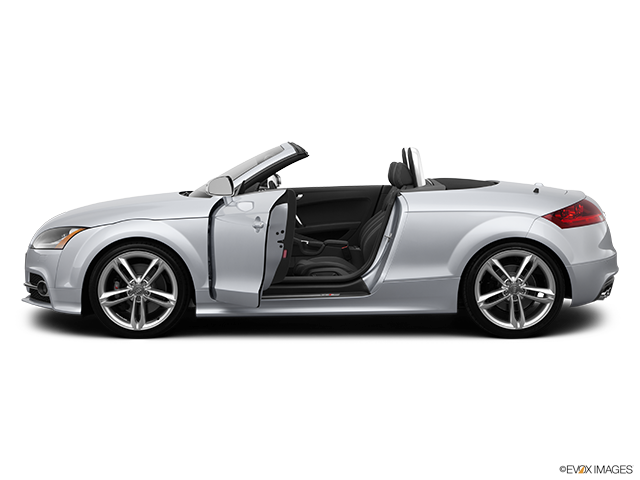 2014 Audi TTS Driver's side profile with drivers side door open