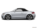 2014 Audi TTS Drivers side profile, convertible top up (convertibles only)