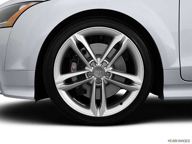 2014 Audi TTS Front Drivers side wheel at profile