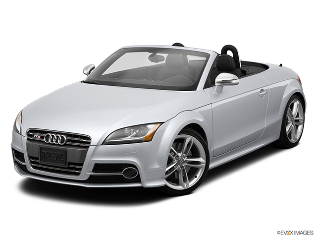 2014 Audi TTS Front angle view